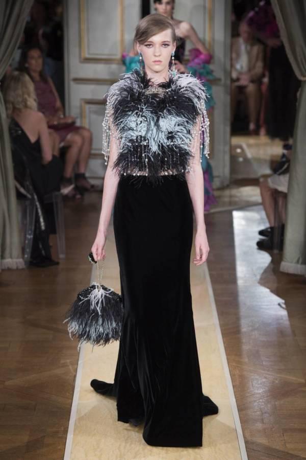Коллекция Armani Prive осень-зима 2018–2019 на Неделе высокой моды в Париже выход 66