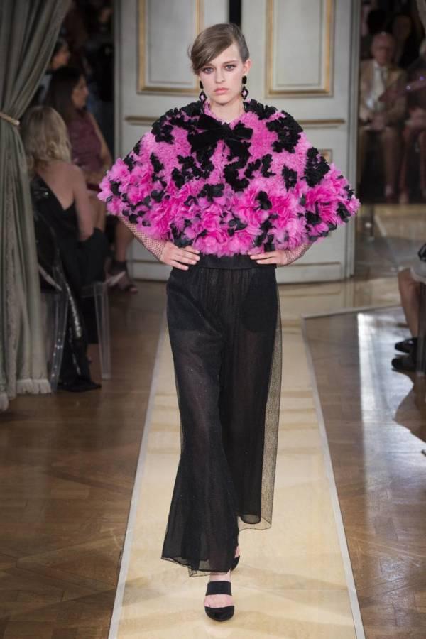 Коллекция Armani Prive осень-зима 2018–2019 на Неделе высокой моды в Париже выход 68