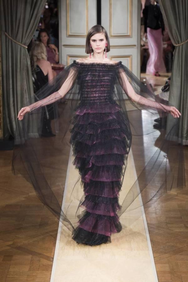 Коллекция Armani Prive осень-зима 2018–2019 на Неделе высокой моды в Париже выход 69