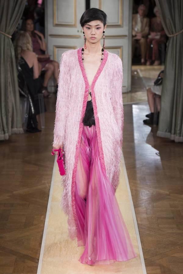 Коллекция Armani Prive осень-зима 2018–2019 на Неделе высокой моды в Париже выход 73
