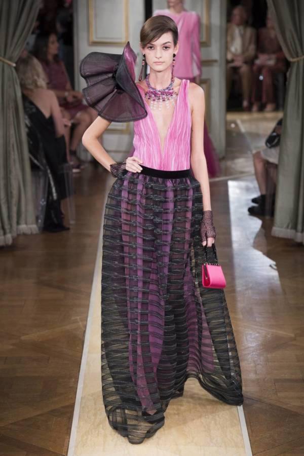 Коллекция Armani Prive осень-зима 2018–2019 на Неделе высокой моды в Париже выход 74
