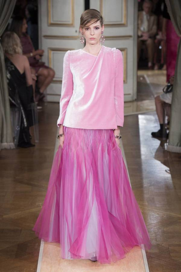 Коллекция Armani Prive осень-зима 2018–2019 на Неделе высокой моды в Париже выход 75