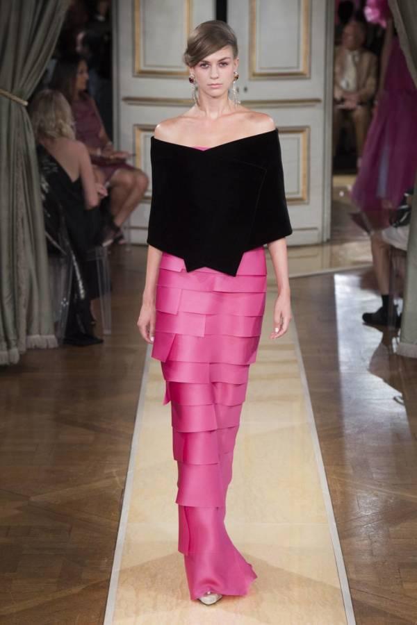 Коллекция Armani Prive осень-зима 2018–2019 на Неделе высокой моды в Париже выход 76