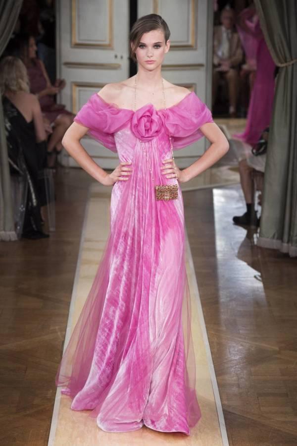Коллекция Armani Prive осень-зима 2018–2019 на Неделе высокой моды в Париже выход 78