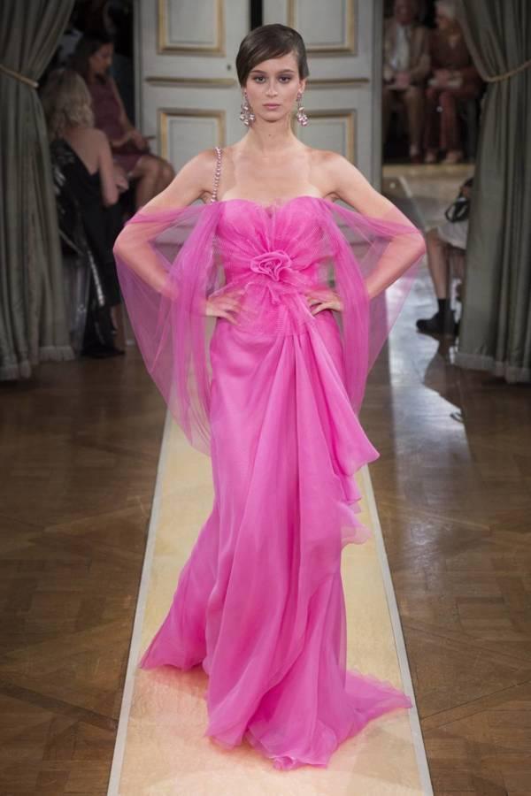 Коллекция Armani Prive осень-зима 2018–2019 на Неделе высокой моды в Париже выход 79