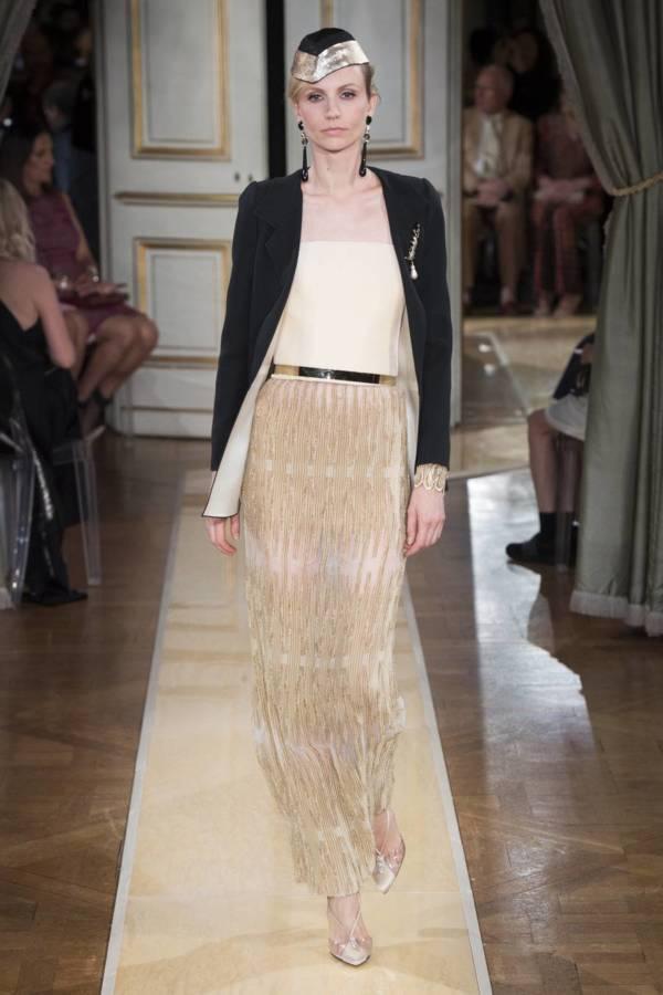 Коллекция Armani Prive осень-зима 2018–2019 на Неделе высокой моды в Париже выход 8