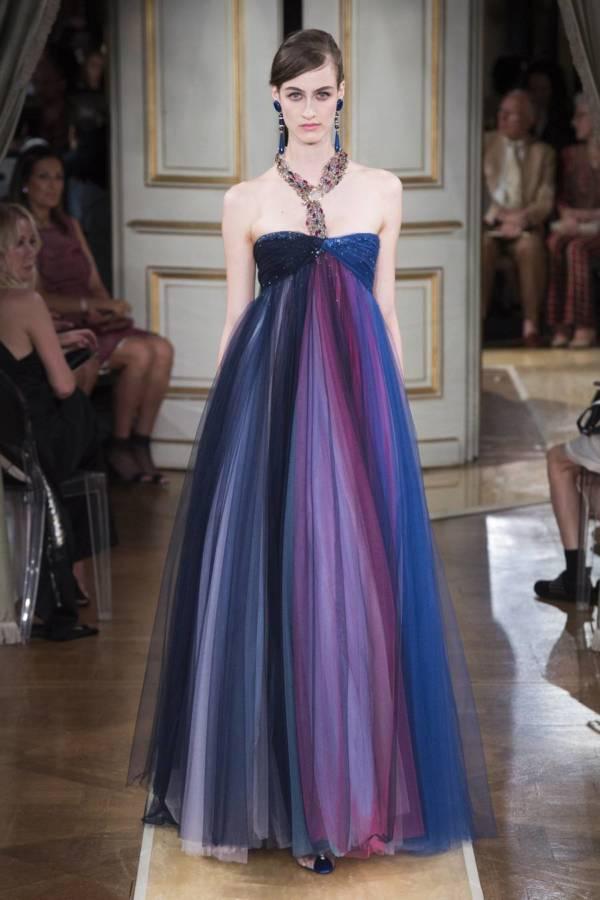 Коллекция Armani Prive осень-зима 2018–2019 на Неделе высокой моды в Париже выход 81