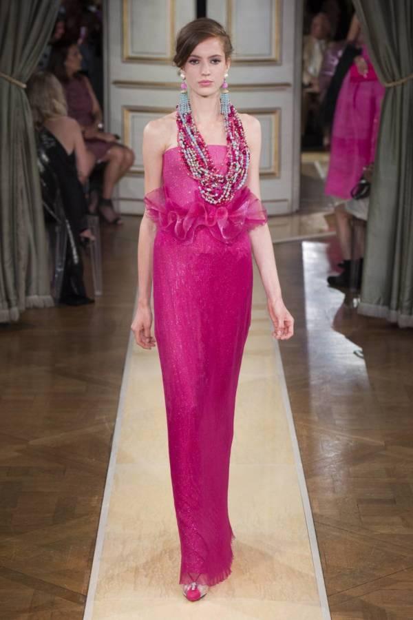 Коллекция Armani Prive осень-зима 2018–2019 на Неделе высокой моды в Париже выход 82