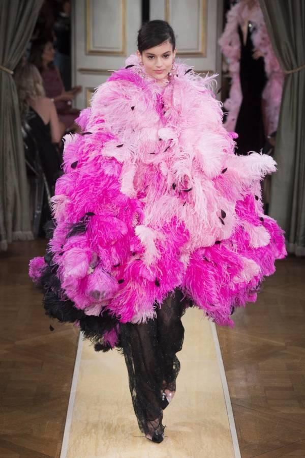 Коллекция Armani Prive осень-зима 2018–2019 на Неделе высокой моды в Париже выход 84