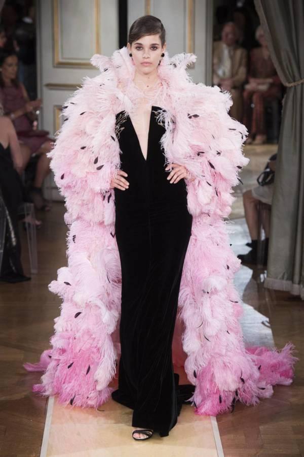 Коллекция Armani Prive осень-зима 2018–2019 на Неделе высокой моды в Париже выход 85