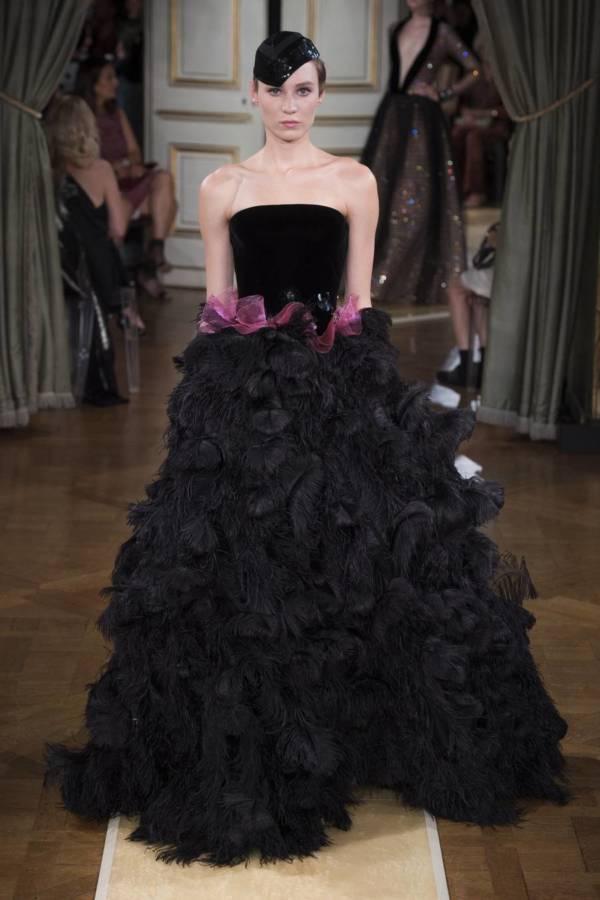 Коллекция Armani Prive осень-зима 2018–2019 на Неделе высокой моды в Париже выход 86