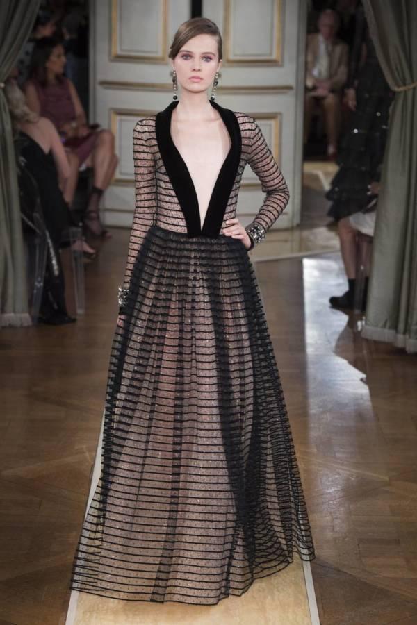 Коллекция Armani Prive осень-зима 2018–2019 на Неделе высокой моды в Париже выход 87