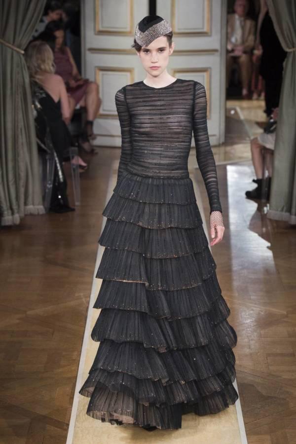 Коллекция Armani Prive осень-зима 2018–2019 на Неделе высокой моды в Париже выход 88