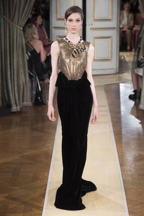 Коллекция Armani Prive осень-зима 2018–2019 на Неделе высокой моды в Париже выход 89