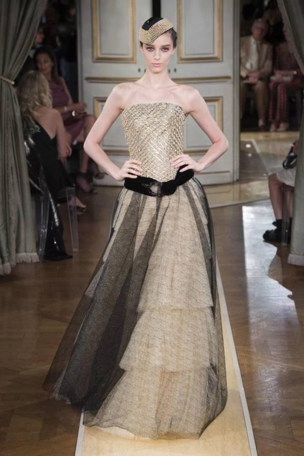 Коллекция Armani Prive осень-зима 2018–2019 на Неделе высокой моды в Париже выход 90