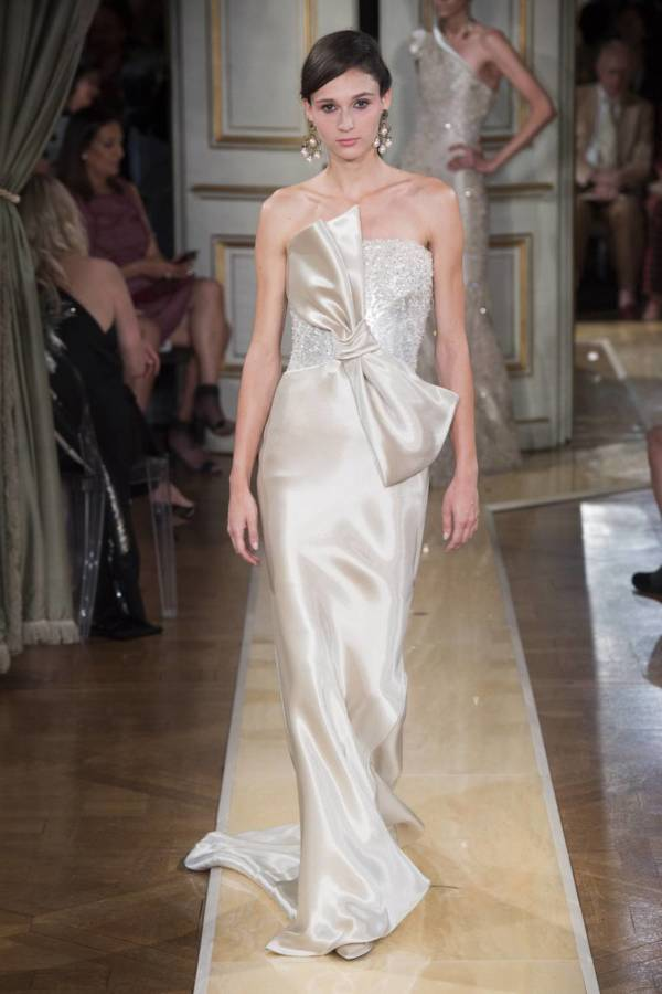 Коллекция Armani Prive осень-зима 2018–2019 на Неделе высокой моды в Париже выход 92