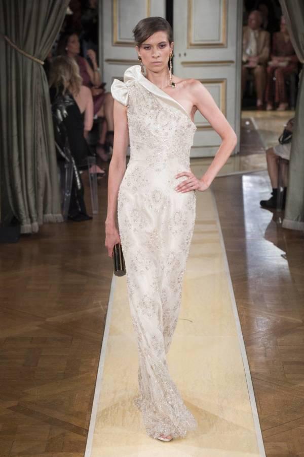 Коллекция Armani Prive осень-зима 2018–2019 на Неделе высокой моды в Париже выход 93