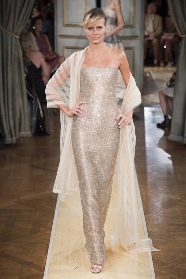 Коллекция Armani Prive осень-зима 2018–2019 на Неделе высокой моды в Париже выход 94