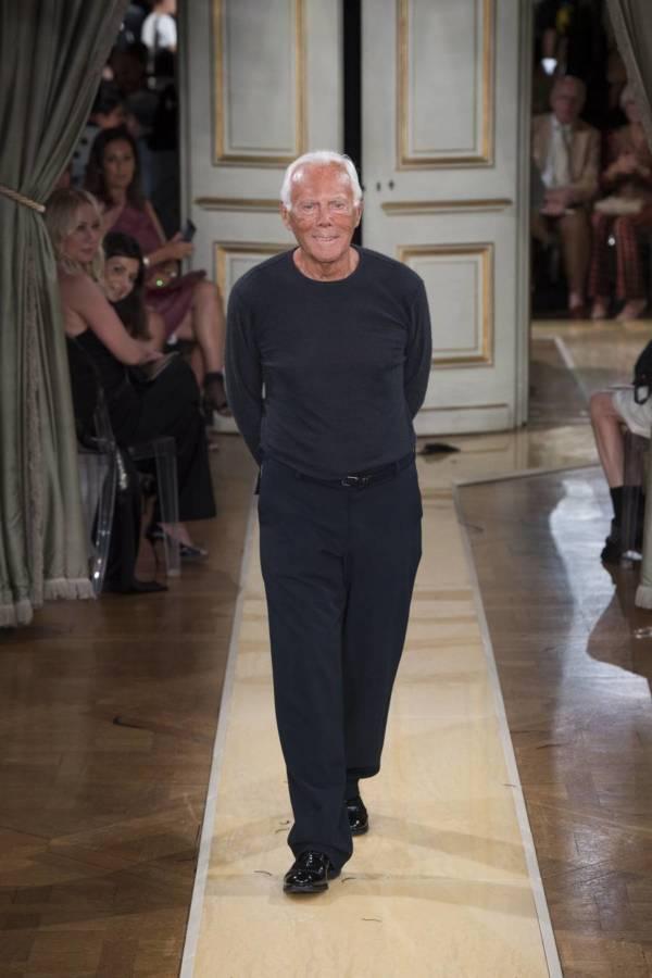 Коллекция Armani Prive осень-зима 2018–2019 на Неделе высокой моды в Париже выход 98